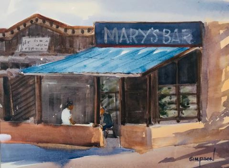 Mary's Bar by Mike Simpson