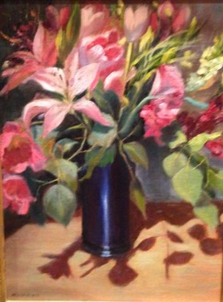 Mothers Day Lilies by Susan D Bingham