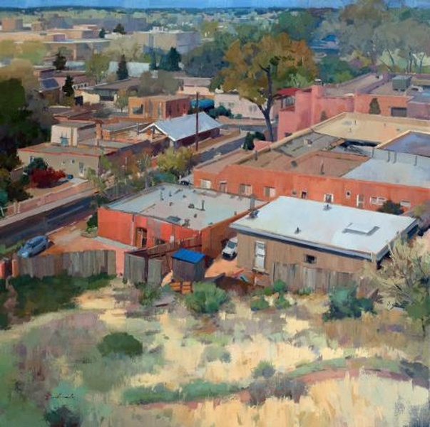 Paseo, Santa Fe by Louis Escobedo