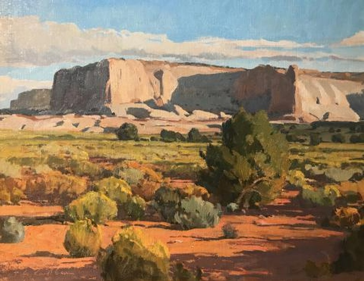 Shadows on Long Mesa by Russell Case