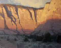 Early Canyon Light - Oil - 16x20