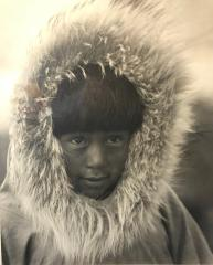 Alaskan Boy - Photograph - 20x16 Mount