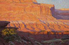 Last Light-Capital Reef - Oil on Linen - 12x18