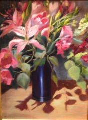Mothers Day Lilies - Oil - 16x12