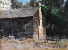 Orderville Historic Home - Oil on Linen - 12x16