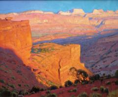 Sunset Glow-Capitol Reef - Oil on Linen - 20x24