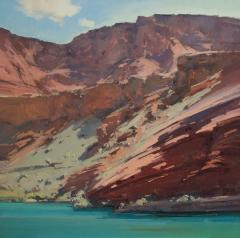 Marble Canyon - Oil on Linen - 26x26