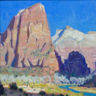 Angel's Landing (Study): click to enlarge
