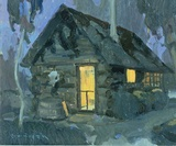 Bunkhouse by Moonlight