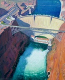 Glen Canyon Dam From Above