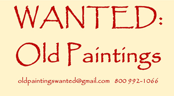 Paintings Wanted